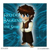 .Frodo Baggins of the Shire. by xcrystalclearx