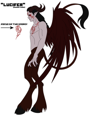 Concept - Lucifer (demon form)