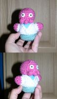 Dr. Zoidberg - crocheted doll by ThatNanda
