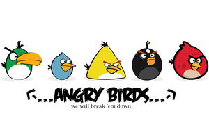 Angry Birds Declared by LosingSarah