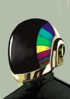 dp helmet :guy manuel by warnia