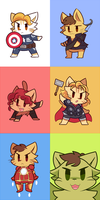 Catvengers by MACKINN7