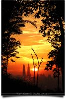 Sunset at Ampang Hill by AnNamir2u