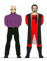 Luthor And Zod by Jochimus