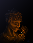 A lighter in the dark by Elissagd