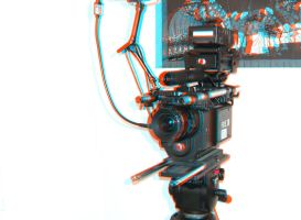 Red Camera in 3D by moonglowdude