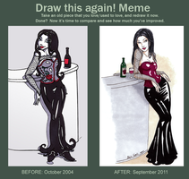 Meme: Before and After by Maija