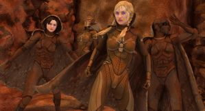 Daughters Of Arakis by toadz
