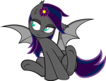 (Vectorized) Midnight Hibiscus Cutiepie by Archive-Alicorn