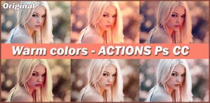 ACTIONS  Warm Colors by Tetelle-passion