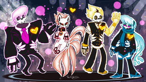 Mystery Skulls: Ghosts by Gabbybites