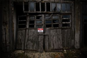 no trespassing... by schwepes