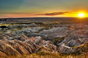 Badlands Setting by RichardNohs