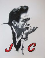Johnny Cash by Mazzi294