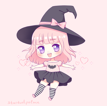little witch by stardust-palace
