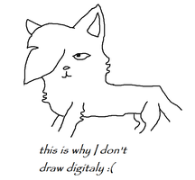 this is why i don't draw digitaly by Xxshadow67xX