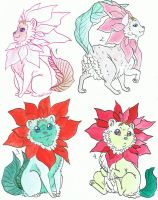 Adoptables_3_Poinsettia-Snulls_CLOSE by Shiro-ART