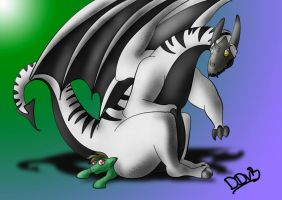 Dragon for Ben by Darkdeathgrace
