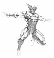 Wolverine jumps 2 by florencuevas