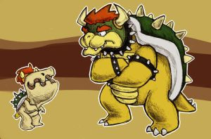 tobl and bowser by benevoak