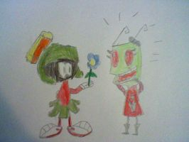Marvin and Kim's Romance by nintendolover2010