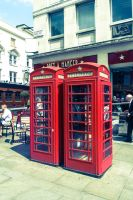 London Phoneboxes by thelifeofawallflower