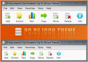 7-Zip PC.DE Icon Theme by RudeBoySes