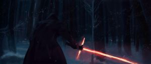 Star Wars The Force Awakens Study by CobyRicketts
