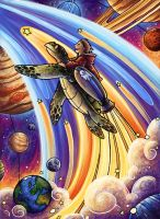 Space Turtle IV by SpaceTurtleStudios