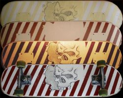 Skate painting step by step... by TetrisMaster
