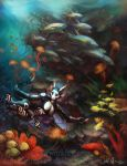 Dance of the reef fish by Tidma
