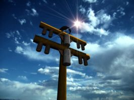 Telephone Pole - 2nd Preview by VeggieB0i