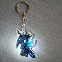 MLP Filly Queen Chrysalis Key chain Commission by AmyAnnie14