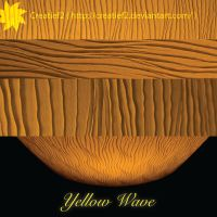 yellow wave by creatief2
