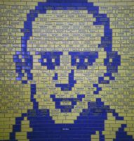 Man Of Tiles by pixievamp-stock