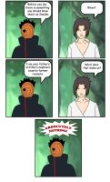 Sasuke and Tobi's relation by Pugthug