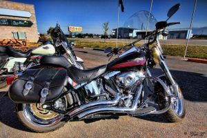 harley-davidson fat boy by Yair-Leibovich