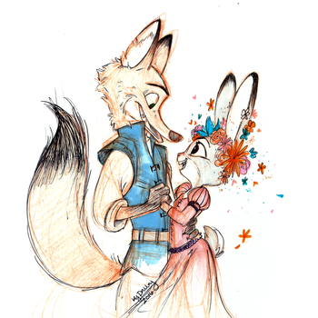 Dance With Me [ZOOTOPIA] by AugustRaes