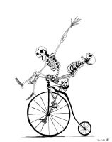 31 DOH: Bones and Bicycles by croonstreet