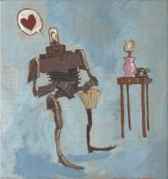 Robot in Love by Bewheel