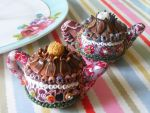 Polymer Clay Teapot Salt and Pepper Shakers by cynamonspice