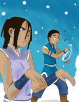 Water-tribe pranks by ActionKiddy