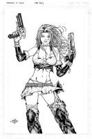Aphrodite ix Hires inks + comp by Carl-Riley-Art