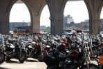 Harley Lot at Summerfest 2014 by ORockGirl