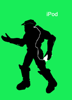 Master Chief iPod by Linkgcn64