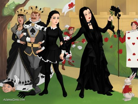 Familly Addams halloween entry by adrianaTheGirlOnFire