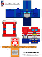 Paper Pezzy- Optimus Prime G1 by CyberDrone