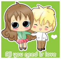 All you need is love by Shiirow