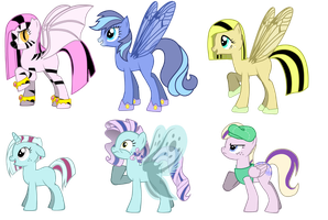 Free Pony Adoptables by PinkSmooches
