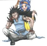 Levy x Gajeel by martylovespinkfloyd